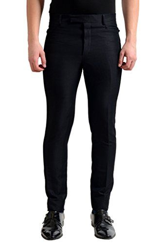 LANVIN Lanvin Men'S Black Casual Pants. #lanvin #cloth #