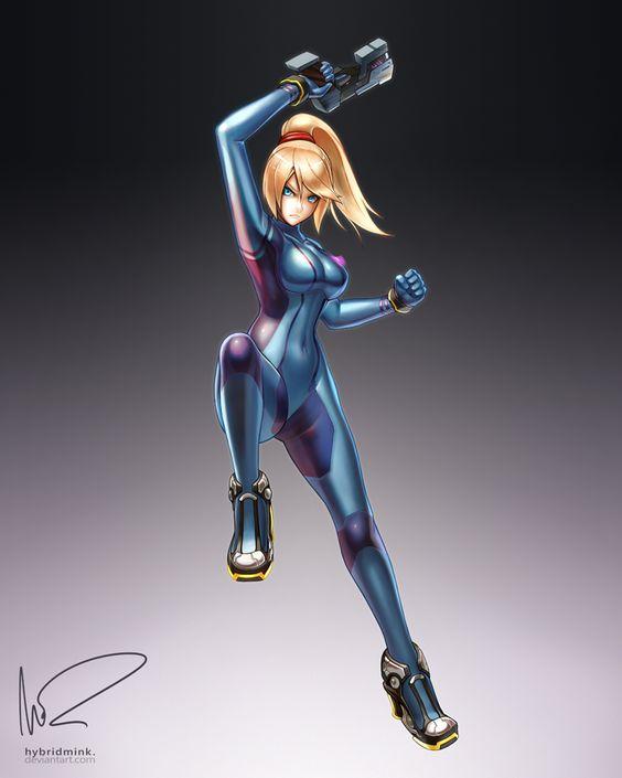 Zero Suit Samus by hybridmink