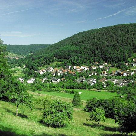 """Gasthaus und Pension """"Zur Krone"""" in Hirschhorn/Langenthal"""