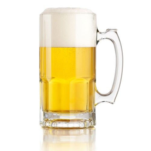 Large Glass Beer Mug Williams Sonoma In 2020 Glass Beer Mugs