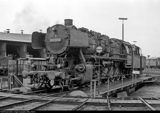 RailPictures.Net Photo: 052 131 Deutsche Bundesbahn steam 2-10-0 at Weiden…