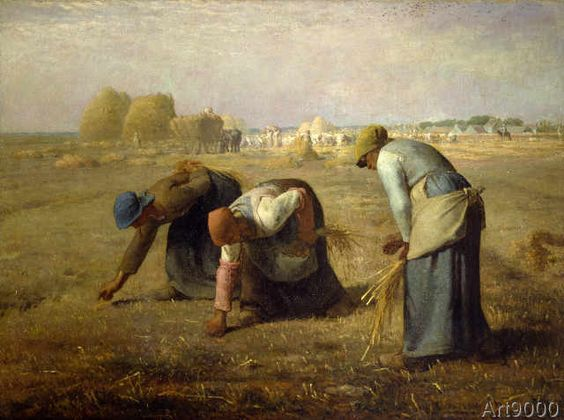 Jean-François Millet - The gleaners