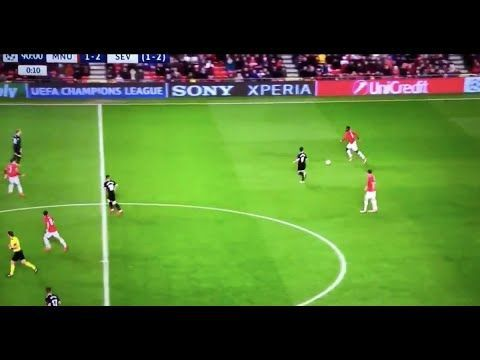 The Paul Pogba Moment Vs Sevilla That Everyone Was Laughing At In 2020 Paul Pogba In This Moment Sevilla