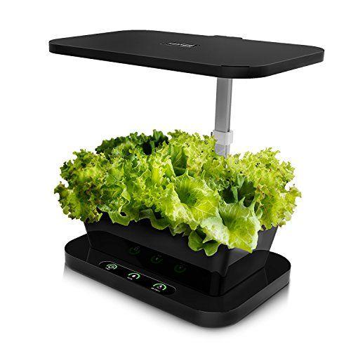 Docheer Indoor Led Plant Grow Light Mini Garden Farm Kit With 27w Intelligent Control Hydroponics Grow Lights For Plants Indoor Hydroponics Vegetable Planters