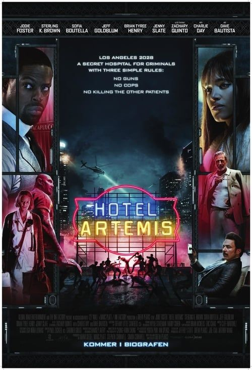 Hd 1080p Hotel Artemis 2018 Pelicula Online Completa Esp