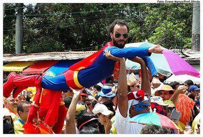 Superman em Olinda.