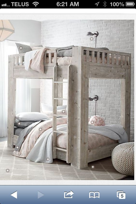 Double bunk beds Double bunk and Bunk bed on Pinterest