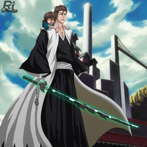 Bleach Oc Hakugin Jin By Sarzill On Deviantart: Saitou Shinoda, Shikai By Rtenzo.deviantart.com On