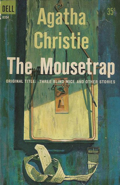 agatha christie novels | Dell Books D354 - Agatha Christie - The Mousetrap | Flickr - Photo ...: