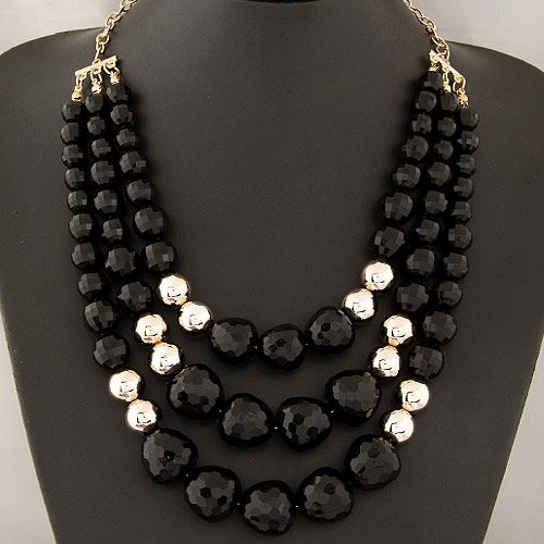 collares de moda 2014 de perlas de colores , Buscar con Google