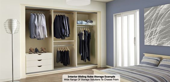 Interior Of Fitted Sliding Wardrobe   Starplan Bedrooms.  Http://www.starplanbedrooms