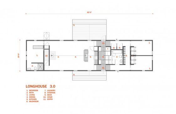 Longhouse Floor Plans 3 Bedroom Architect designed Plan Sets