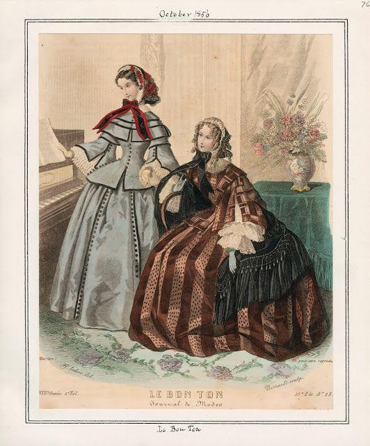 In the Swan's Shadow: Le Bon Ton, October 1856. Civil War