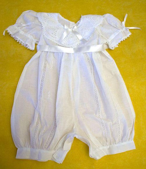 macaquinho branco para bebê menina