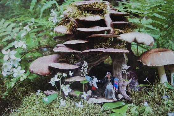 Cortney and kids as fairies