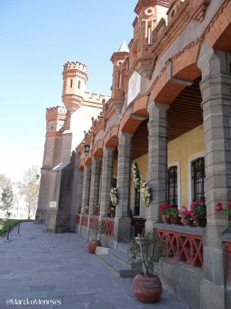 Hacienda Soltepec en Huamantla, Tlaxcala, México