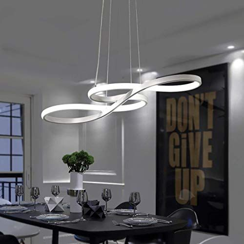 Led Pendant Light Dining Table Hanging Lamp Ceiling Light 38w Dimmable With The Pendant Lighting Dining Room Modern Living Room Lighting Bedroom Light Fixtures