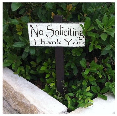 Decorative Garden Signs Stunning No Soliciting Yard Signexpressionistab On  Etsy $1500 Design Ideas