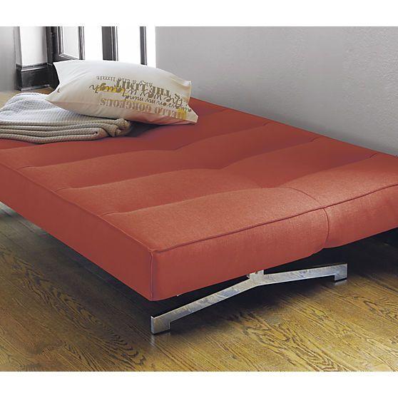Flex Orange Sleeper Sofa Sofas Sleeper Sofas And Orange
