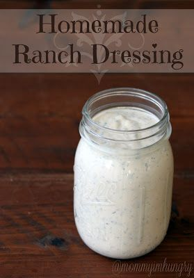 MIH Recipe Blog: Homemade Ranch Dressing