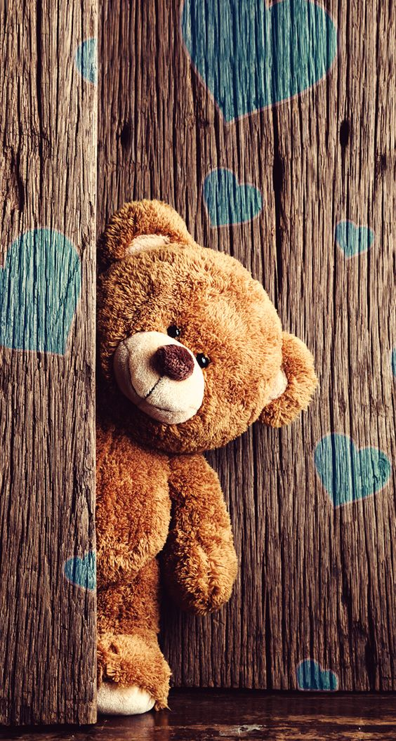 Teddy Bear Popping In: