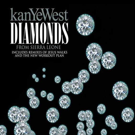 Kanye West – Diamonds from Sierra Leone (single cover art)