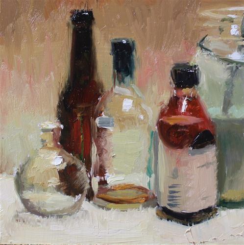 """Winsors Weird Bottle"" - Original Fine Art for Sale - © John Kelley"