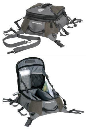 Kayak fishing kayaks and crossfire on pinterest for Kayak fish bag