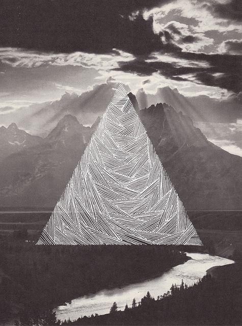 Triángulo en el bosque
