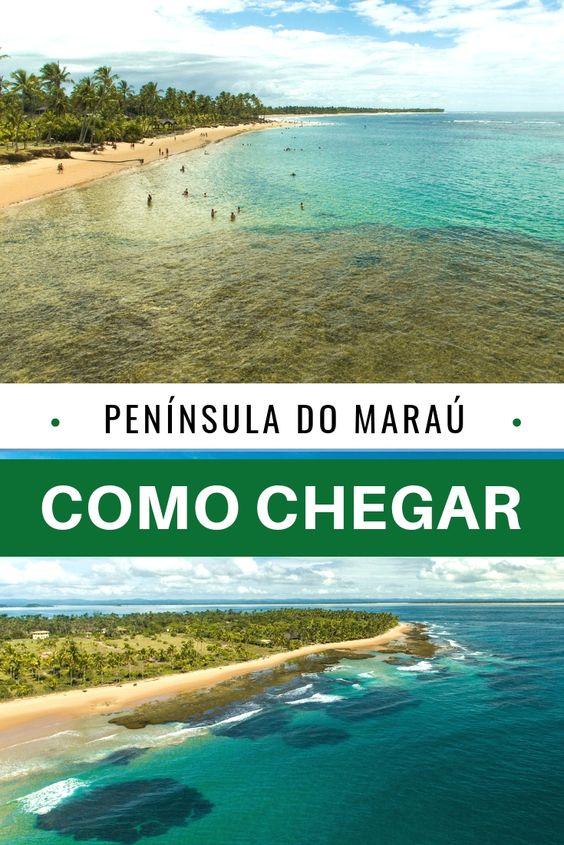 Veja como chegar de Salvador, Ilhéus e Itacaré em Barra Grade, na linda Península do Maraú, no litoral da Bahia. Uma das joias do Nordeste Brasileiro.