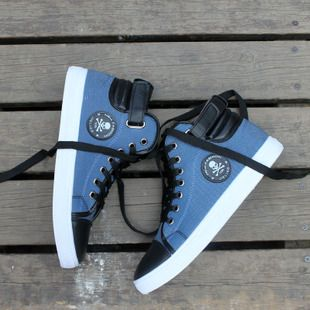 Mens style  fashion high-top canvas shoes casual shoes