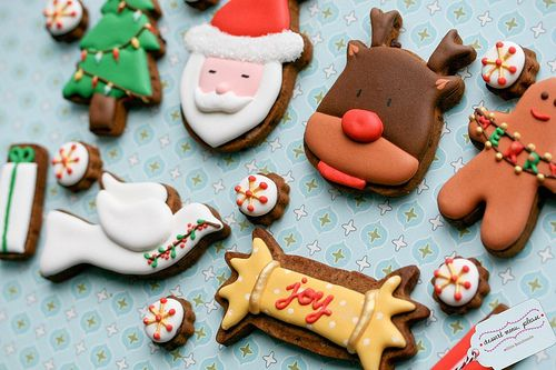 christmas joy in cookie form