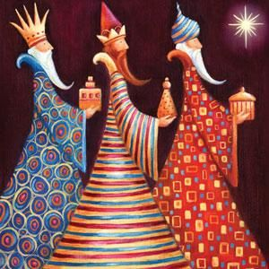 We Three Kings. Los tres Reyes Magos