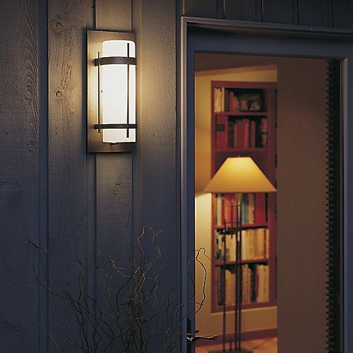 Banded Aluminum Outdoor Sconce by Hubbardton Forge