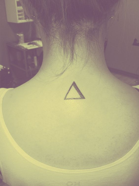 Delta. Mathematical sign for change. This would also represent my years in school, and as I am a bit of a math nerd..