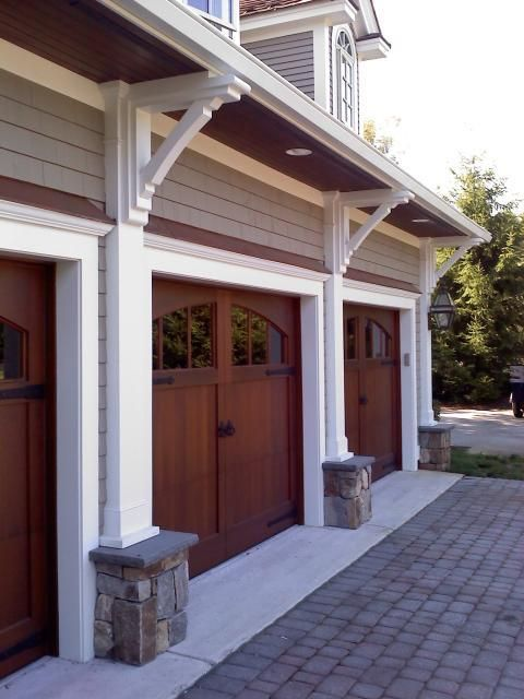 Rustic Garage With Small Windows On Garage Doors Garage Door Installation Garage Doors Garage House