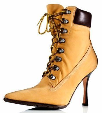 the original manolo blahnik timberland stiletto boot