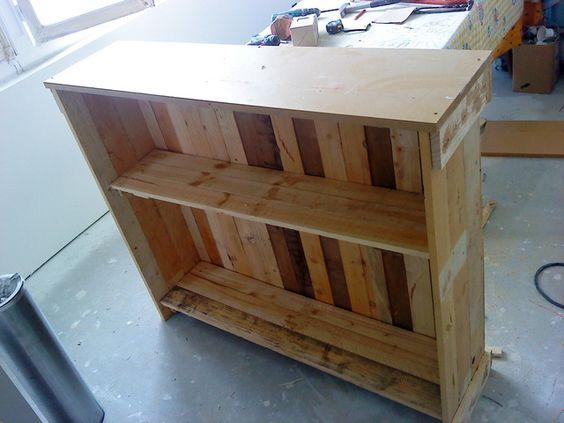 bar en bois de palettes deco pinterest blog et bar. Black Bedroom Furniture Sets. Home Design Ideas