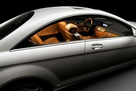 Mercedes CL550. Pure style and class