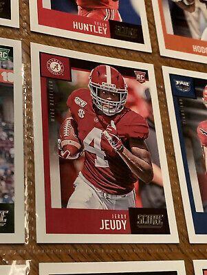 2020 Score Jerry Jeudy 427 Rookie Lot Baun Jones Jr Huntley Hodgins Bryant Ebay In 2020 Huntley Football Cards Alabama Crimson Tide