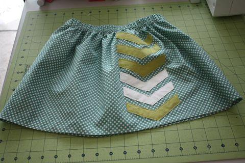 Cute girl's skirt
