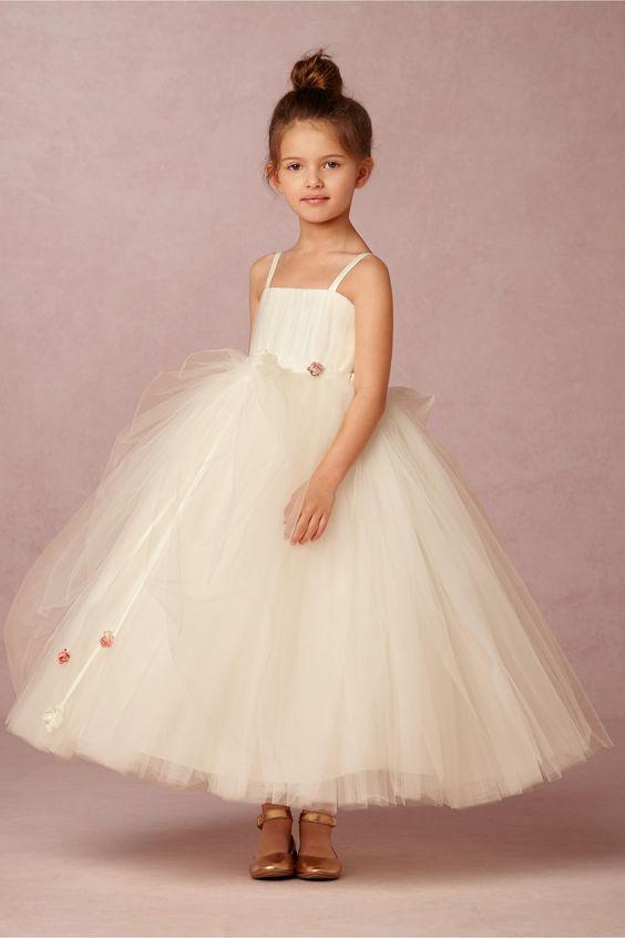 BHLDN Amoret Dress in  Dresses Flower Girl Dresses at BHLDN