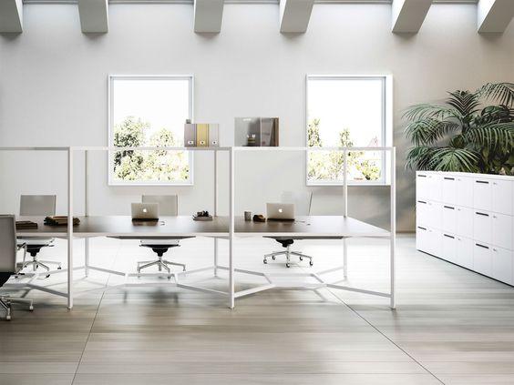 The Hub Desk From Fantoni   Schreibtische, Großraumbüros und Umgebung