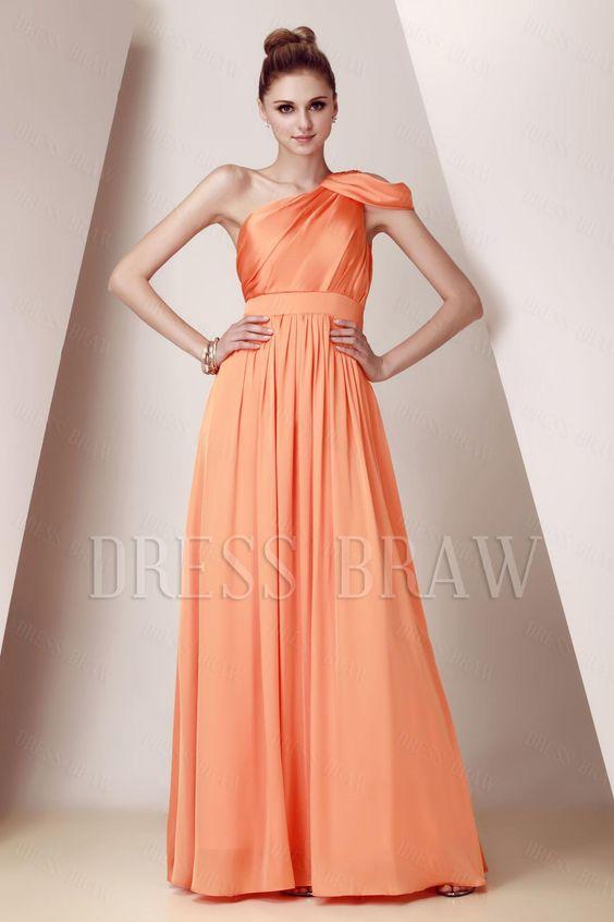 lovely! elegant bridesmaid dress from dressbraw!