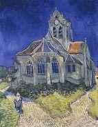 The Church in Auvers-sur-Oise, … -  Van Gogh