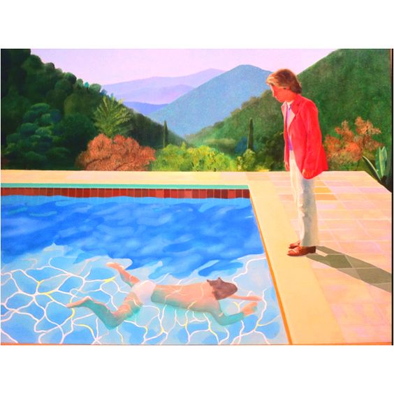 David Hockney - Portrait of an Artist (Pool with Two Figures), 1971