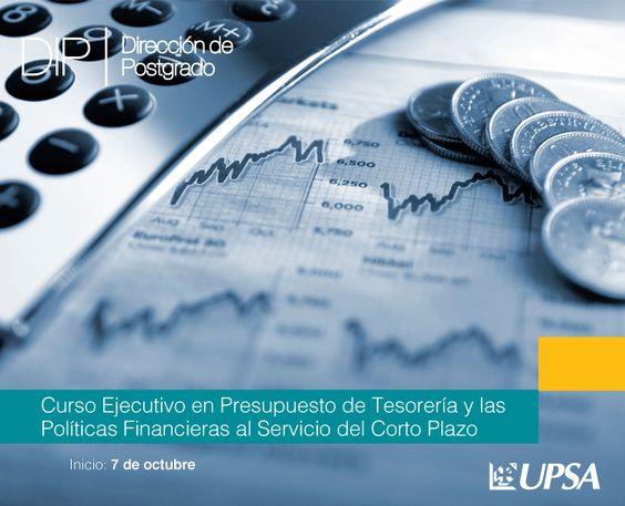 UPSA: Curso Ejecutivo Presupuesto de Tesorería y las Políticas Financieras al Servicio del Corto...