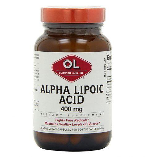 Olympian Labs Alpha Lipoic Acid – 400 Mg – 60 Capsules