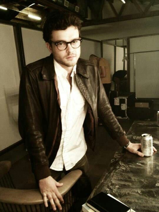 Alden Ehrenreich. He should wear glasses always ...