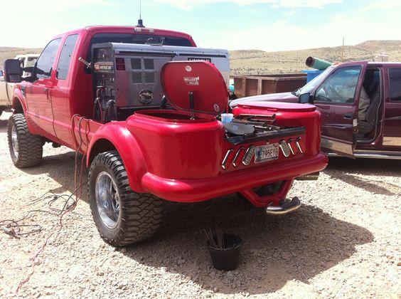Custom welding rig